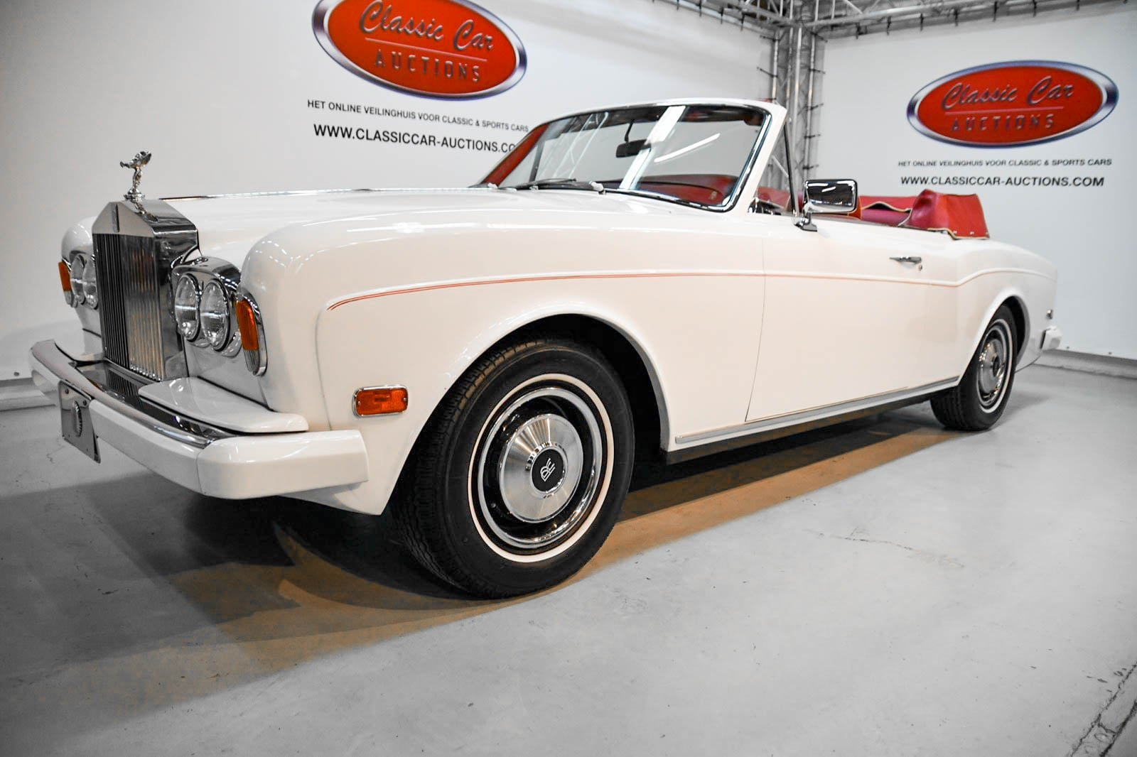 Rolls-Royce Corniche Convertible 1984 For Sale by Auction (picture 1 of 6)