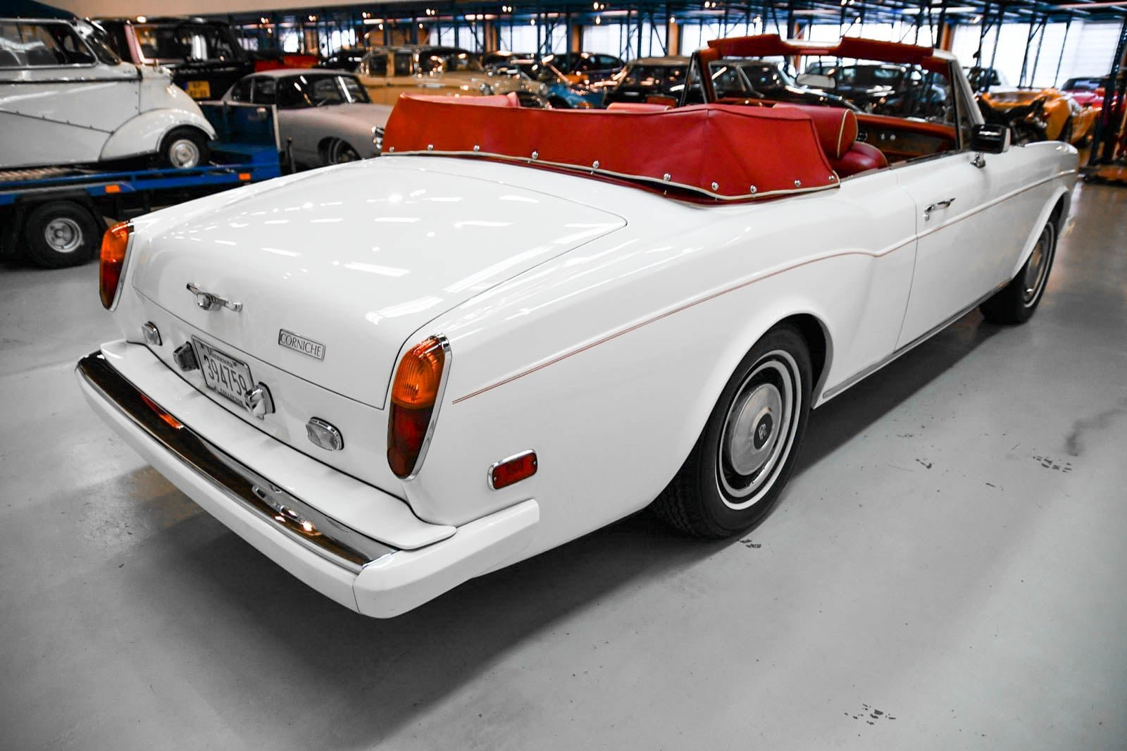 Rolls-Royce Corniche Convertible 1984 For Sale by Auction (picture 3 of 6)