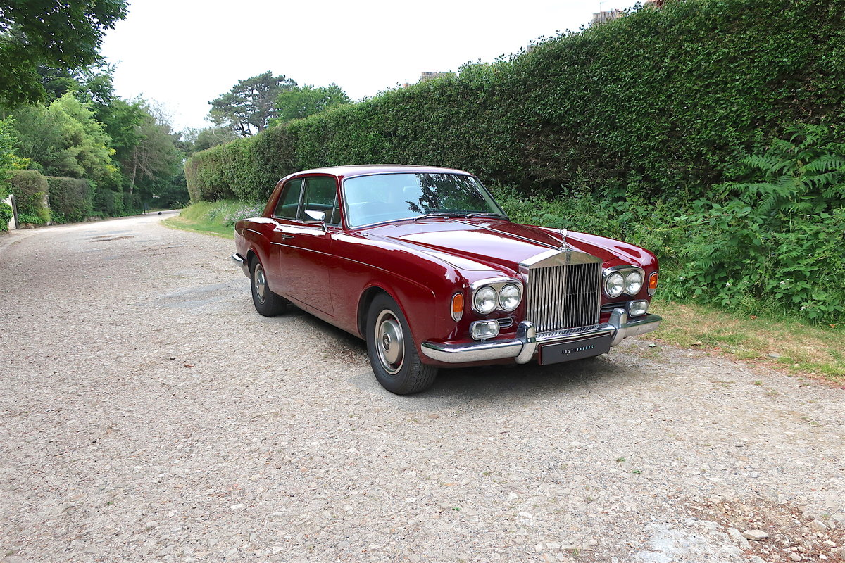 1970 Rolls-Royce Mulliner Park Ward Coupe RHD For Sale (picture 1 of 6)