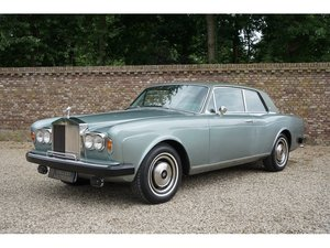 1976 Rolls Royce Corniche Coupe LHD Famous first owner, well main For Sale