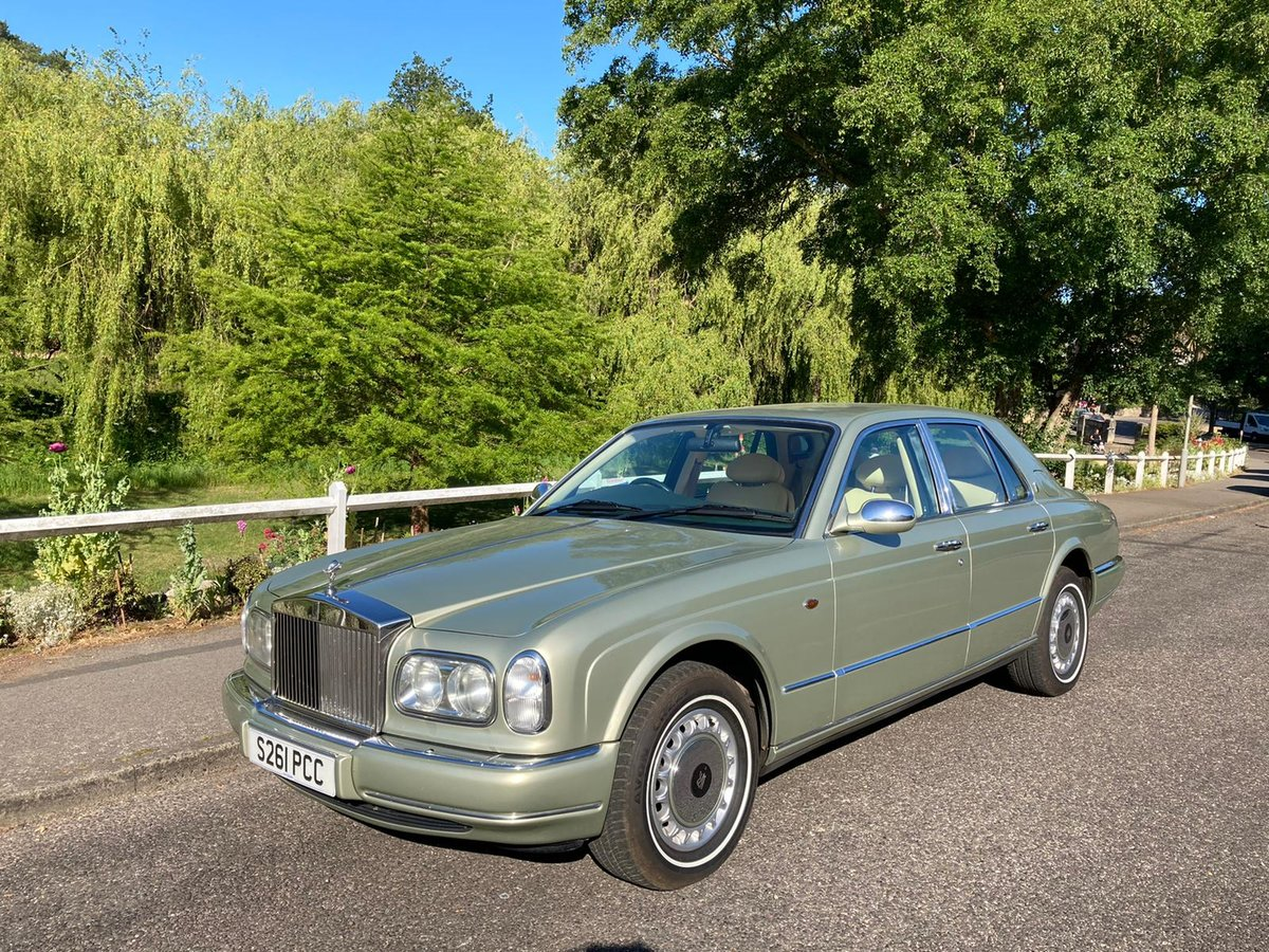 1999 Rolls Royce Silver Seraph For Sale Car And Classic