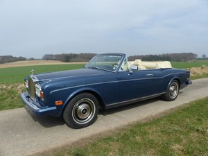 Rolls-Royce Corniche Convertible - one of 587 LHD