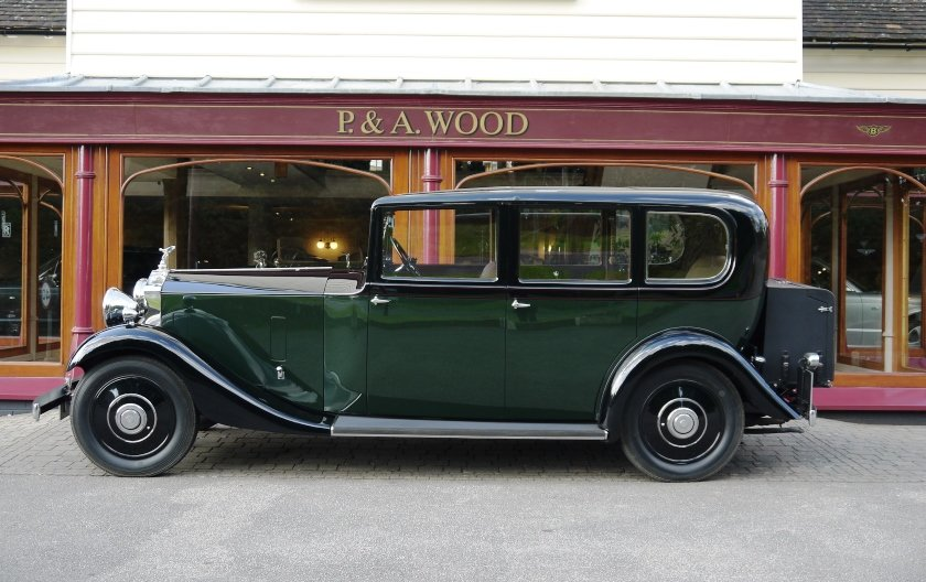 Rolls-Royce 20/25 1933 Limousine by Barker For Sale (picture 2 of 6)