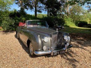 1959 Rolls-Royce Silver Cloud I Convertible L.H.D For Sale