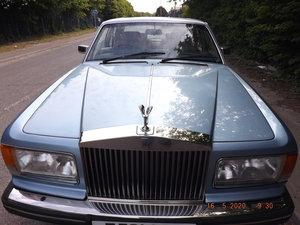 Rolls Royce Silver Spirit, Larkspur Blue Meta