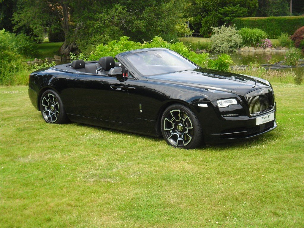 2017 ROLLS-ROYCE DAWN BLACK BADGE 2018 MODEL For Sale (picture 1 of 4)