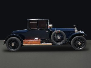 1923 Rolls-Royce Silver Ghost Three Quarter Cabriolet by Barker For Sale