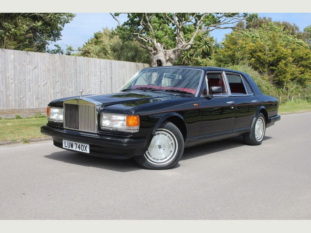 1981 Rolls-Royce Silver Spirit 6.8 4dr ONLY 48,000 MILES FROM NEW For Sale (picture 1 of 1)