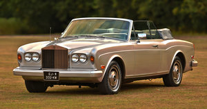 1982 ROLLS ROYCE CORNICHE CONVERTIBLE LHD For Sale
