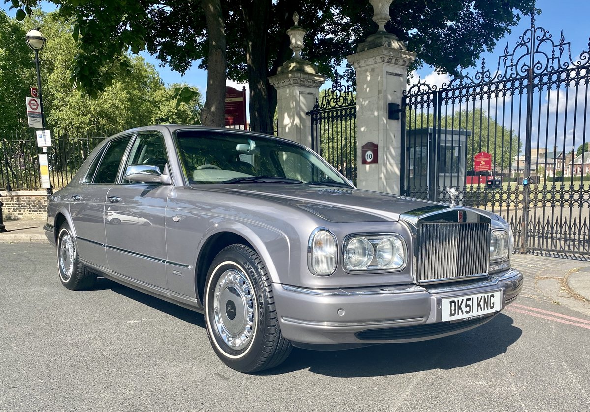 2001 Rolls-Royce Silver Seraph - Last of Line 5.900 miles!! For Sale (picture 1 of 6)