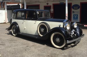 1936 ROLLS-ROYCE BARKER 20/25 For Sale by Auction