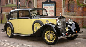 1936 Rolls Royce 25/30 Parkward Limousine