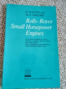 Rolls Royce small horsepower engines