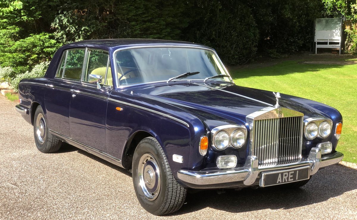 1973 ROLLS ROYCE SILVER SHADOW  For Sale (picture 1 of 6)