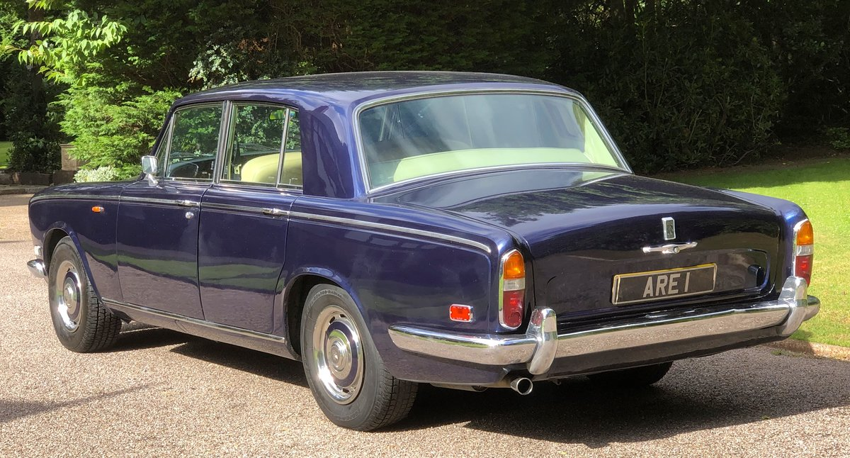 1973 ROLLS ROYCE SILVER SHADOW  For Sale (picture 3 of 6)