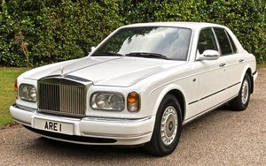1998 ROLLS ROYCE SILVER SERAPH LHD            Royal Owner For Sale
