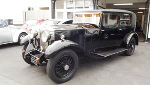 1932  ROLLS ROYCE 20/25 FOUR DOOR SALOON BY PARK WARD