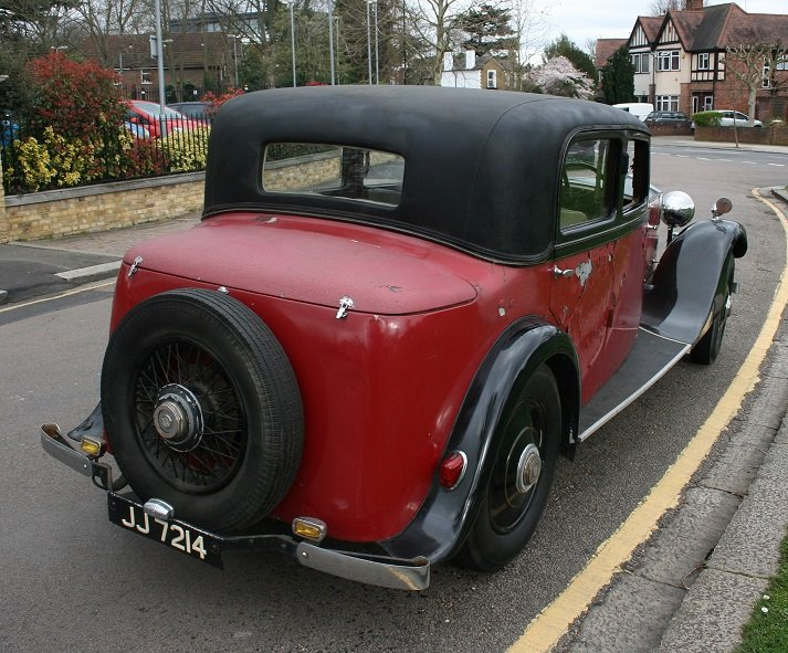 1932 Rolls-Royce 20/25 For Sale (picture 2 of 6)