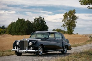1962 Rolls-Royce Phantom V limousine James Young -No reserve For Sale by Auction