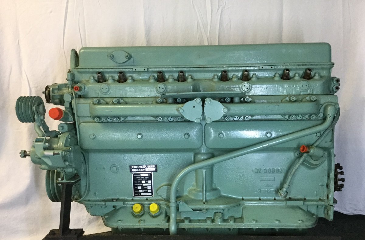 1950 Rolls-Royce B80 Mk 6 5,675 cc Engine Overhauled Bentley Army For Sale (picture 4 of 5)