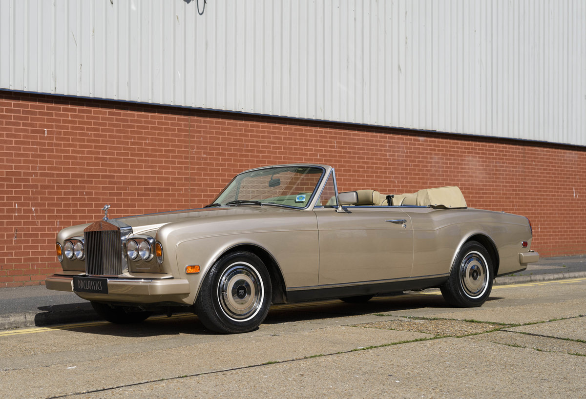 1989 Rolls-Royce Corniche II Convertible (LHD) For Sale (picture 1 of 24)
