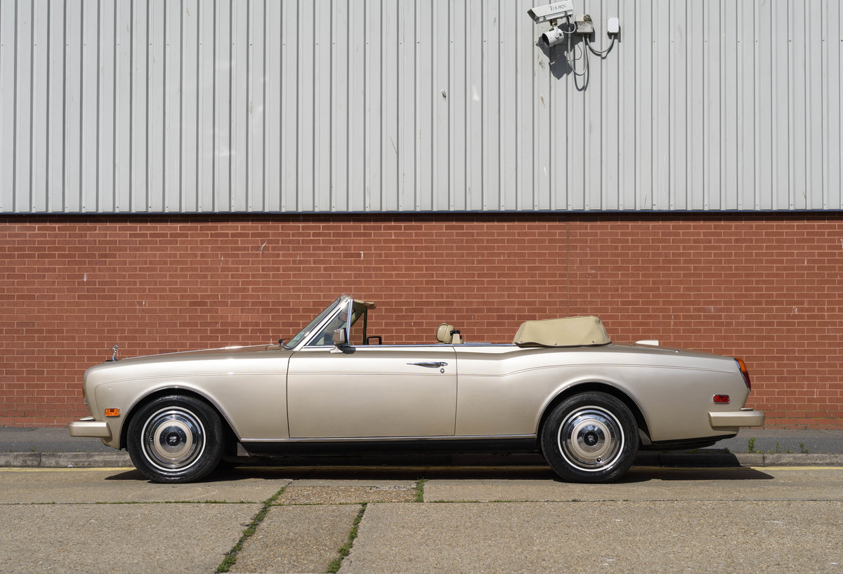 1989 Rolls-Royce Corniche II Convertible (LHD) For Sale (picture 6 of 24)