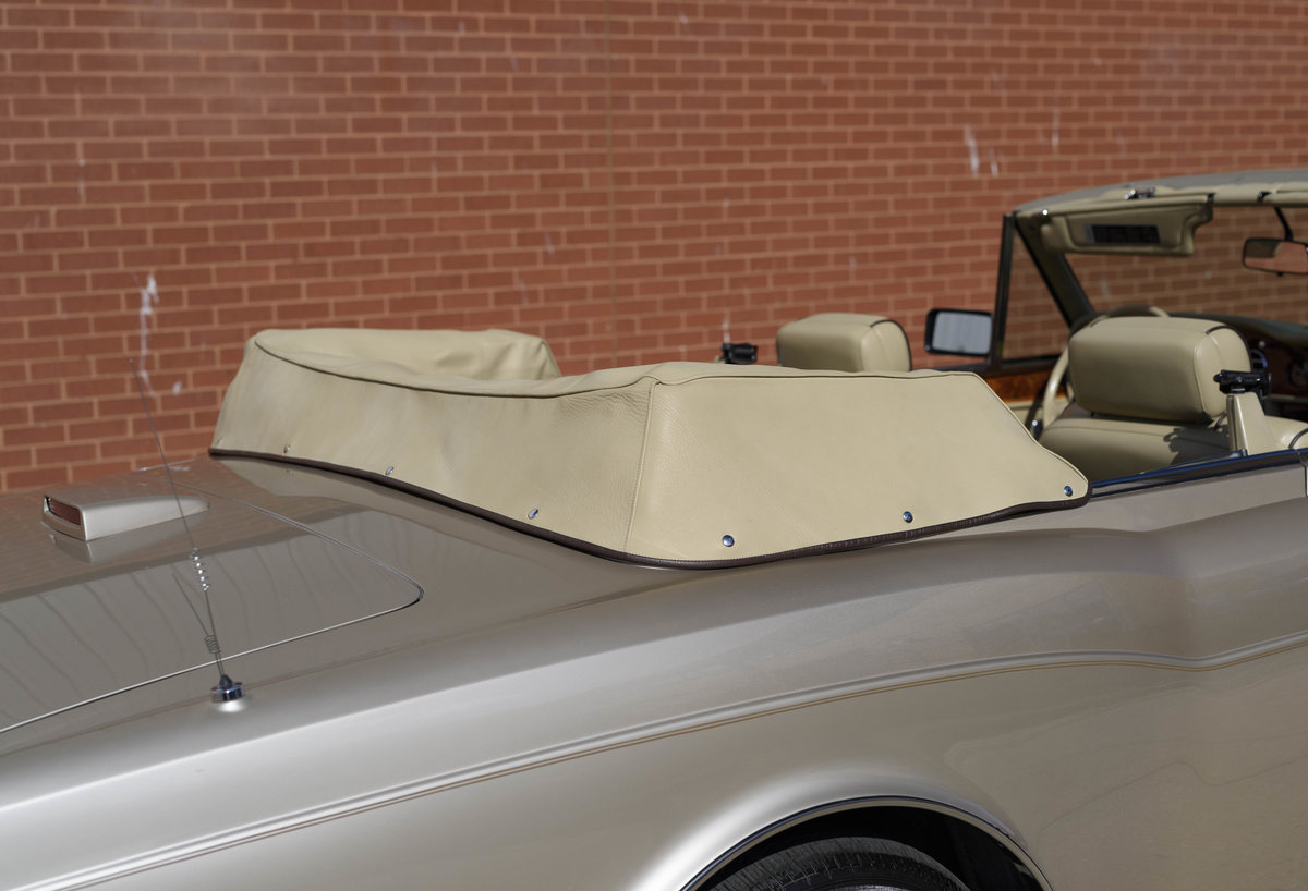 1989 Rolls-Royce Corniche II Convertible (LHD) For Sale (picture 18 of 24)