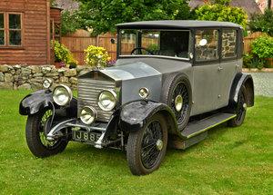 1928 ROLLS ROYCE 20HP WEYMAN SALOON. For Sale