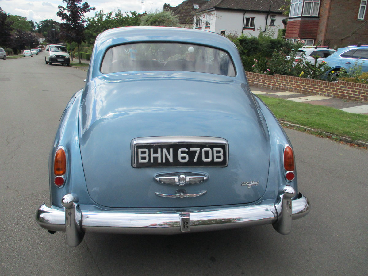 Rolls Royce Silver Cloud 3 1964 For Sale (picture 7 of 13)