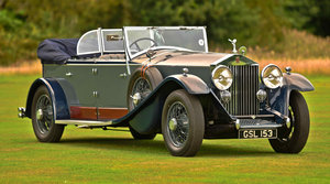 1930 Rolls Royce Phantom 2 Cabriolet by Kitchener & Woodiwis
