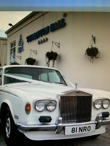 Classic Rolls Royce Silver shadow 1975.