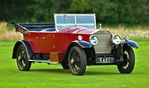 1927 Rolls Royce 20hp Hooper Style Tourer