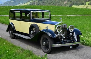 1934 Phantom 2 Hooper D back Limousine. For Sale