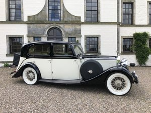 Beautiful 1935 20/25 Rolls Royce Sedanca de Ville For Sale