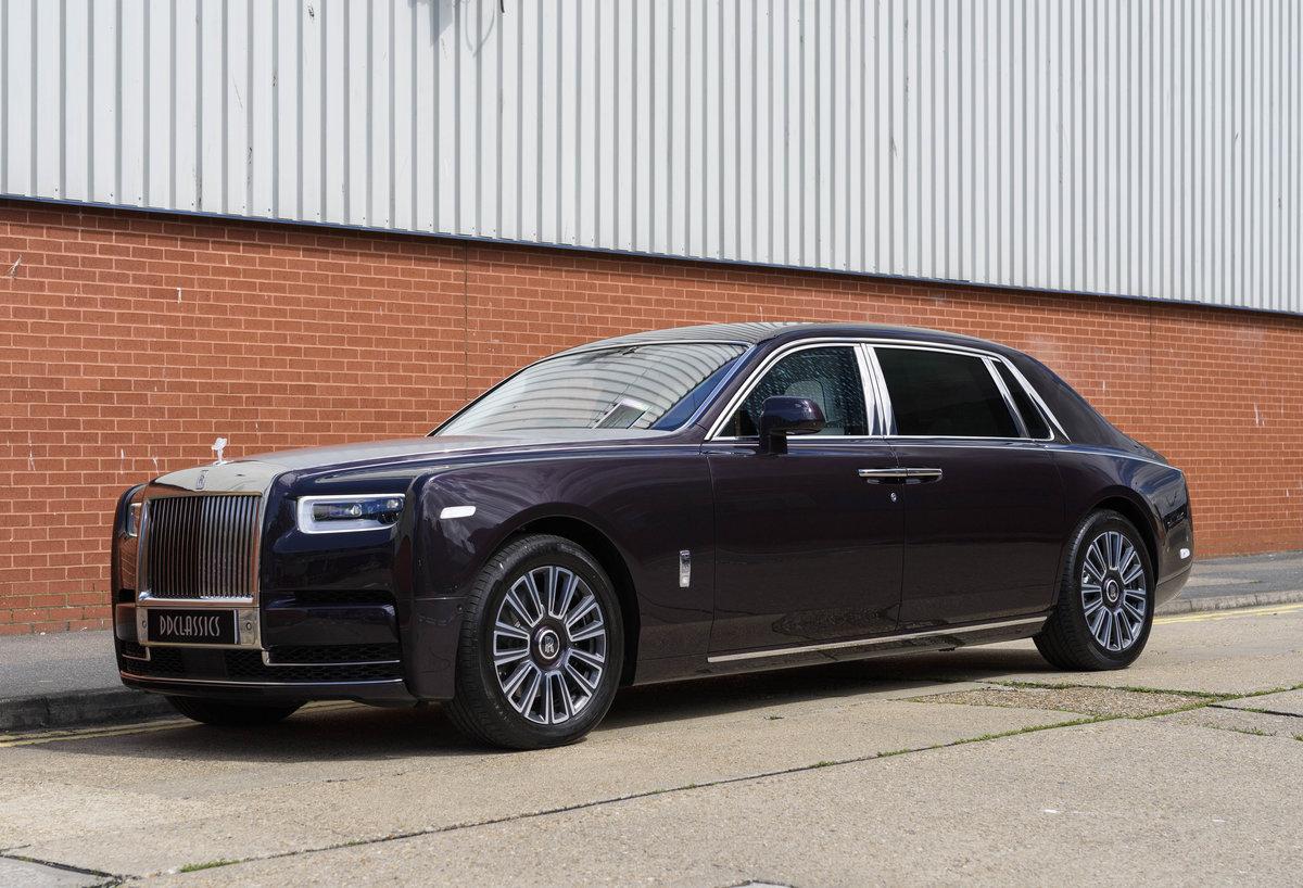 2018 Rolls-Royce Phantom VIII EWB (Extended Wheel Base) (RHD) For Sale (picture 1 of 24)