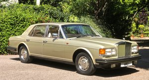 1984 ROLLS ROYCE SILVER SPIRIT       History from new