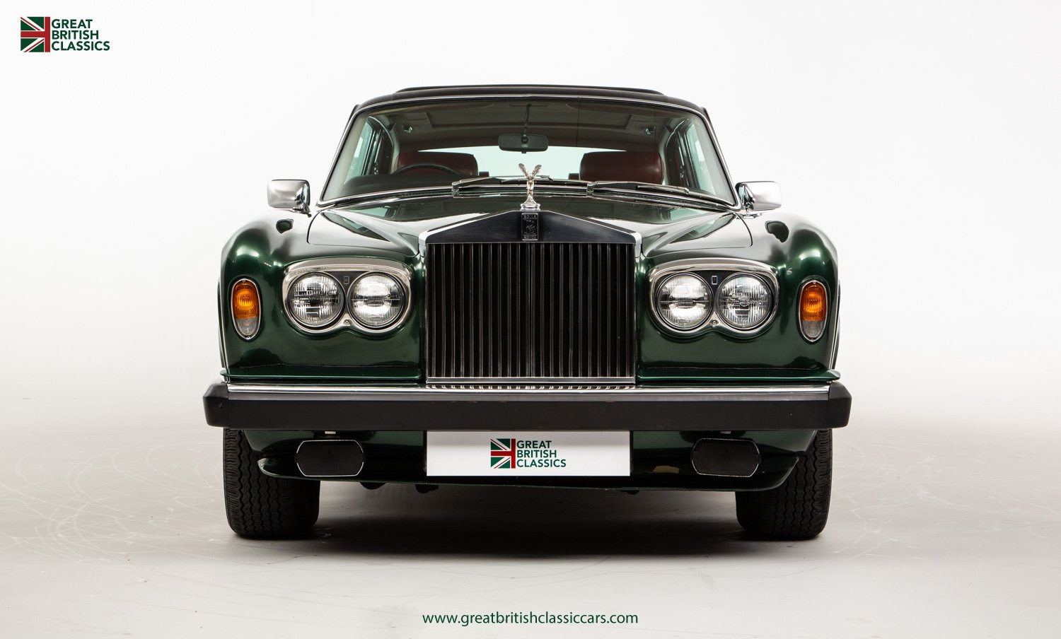 1978 ROLLS ROYCE CORNICHE // HIGHLAND GREEN // HUGE HISTORY FILE  For Sale (picture 1 of 24)
