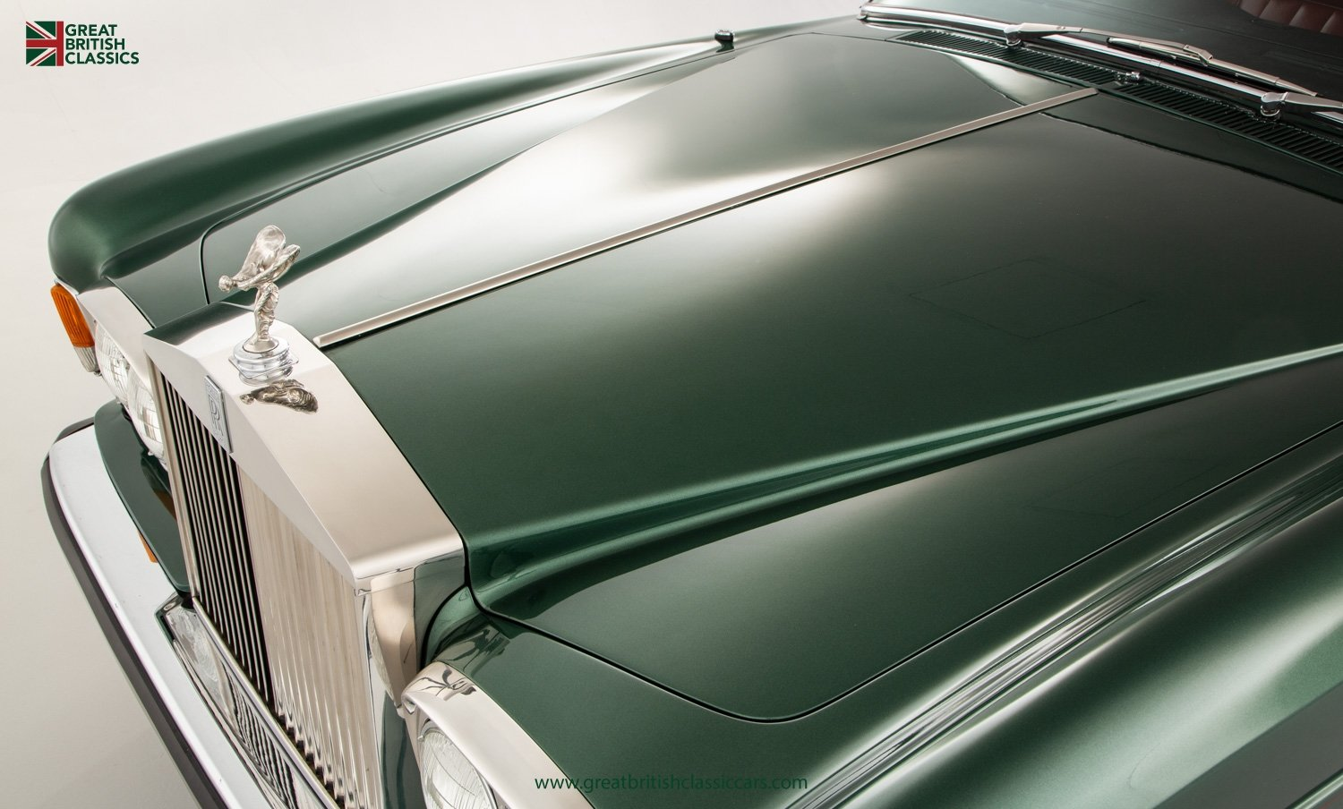 1978 ROLLS ROYCE CORNICHE // HIGHLAND GREEN // HUGE HISTORY FILE  For Sale (picture 3 of 24)