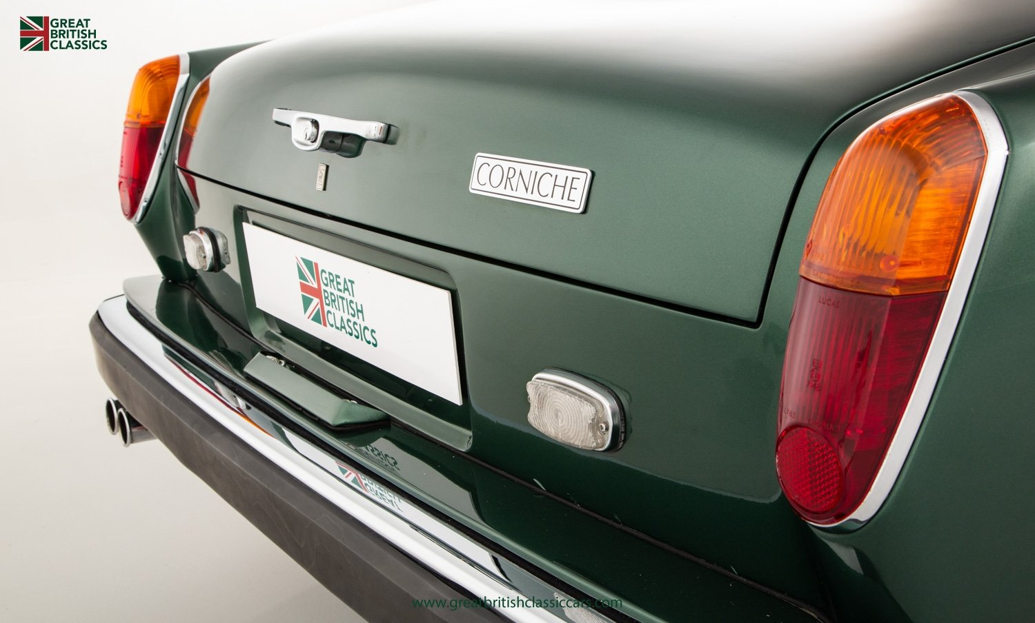 1978 ROLLS ROYCE CORNICHE // HIGHLAND GREEN // HUGE HISTORY FILE  For Sale (picture 13 of 24)
