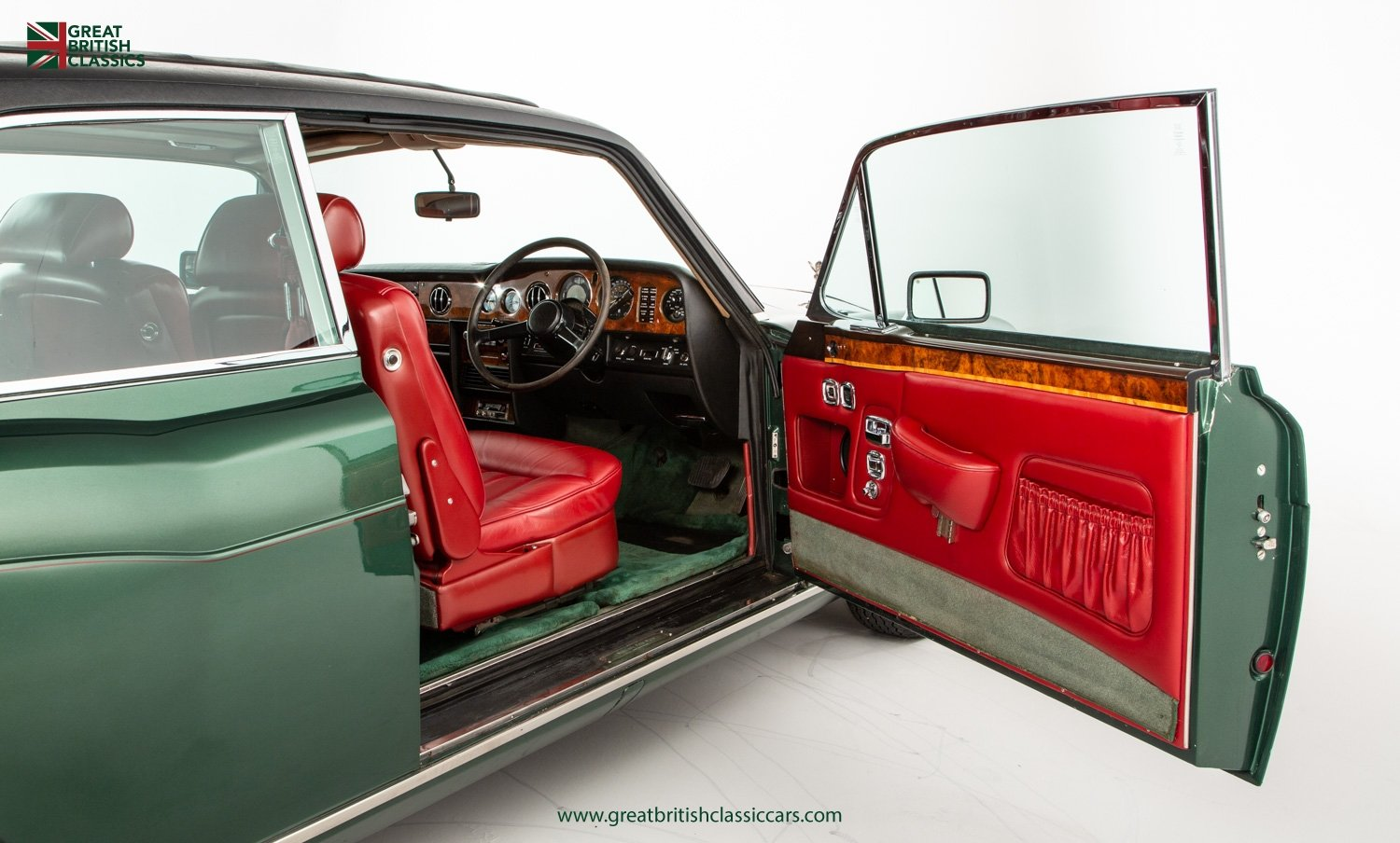 1978 ROLLS ROYCE CORNICHE // HIGHLAND GREEN // HUGE HISTORY FILE  For Sale (picture 14 of 24)