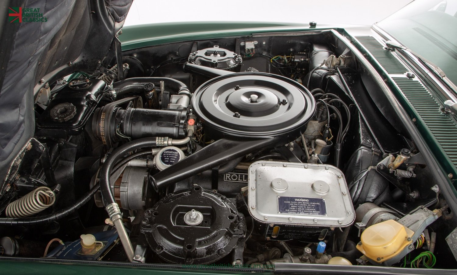 1978 ROLLS ROYCE CORNICHE // HIGHLAND GREEN // HUGE HISTORY FILE  For Sale (picture 19 of 24)