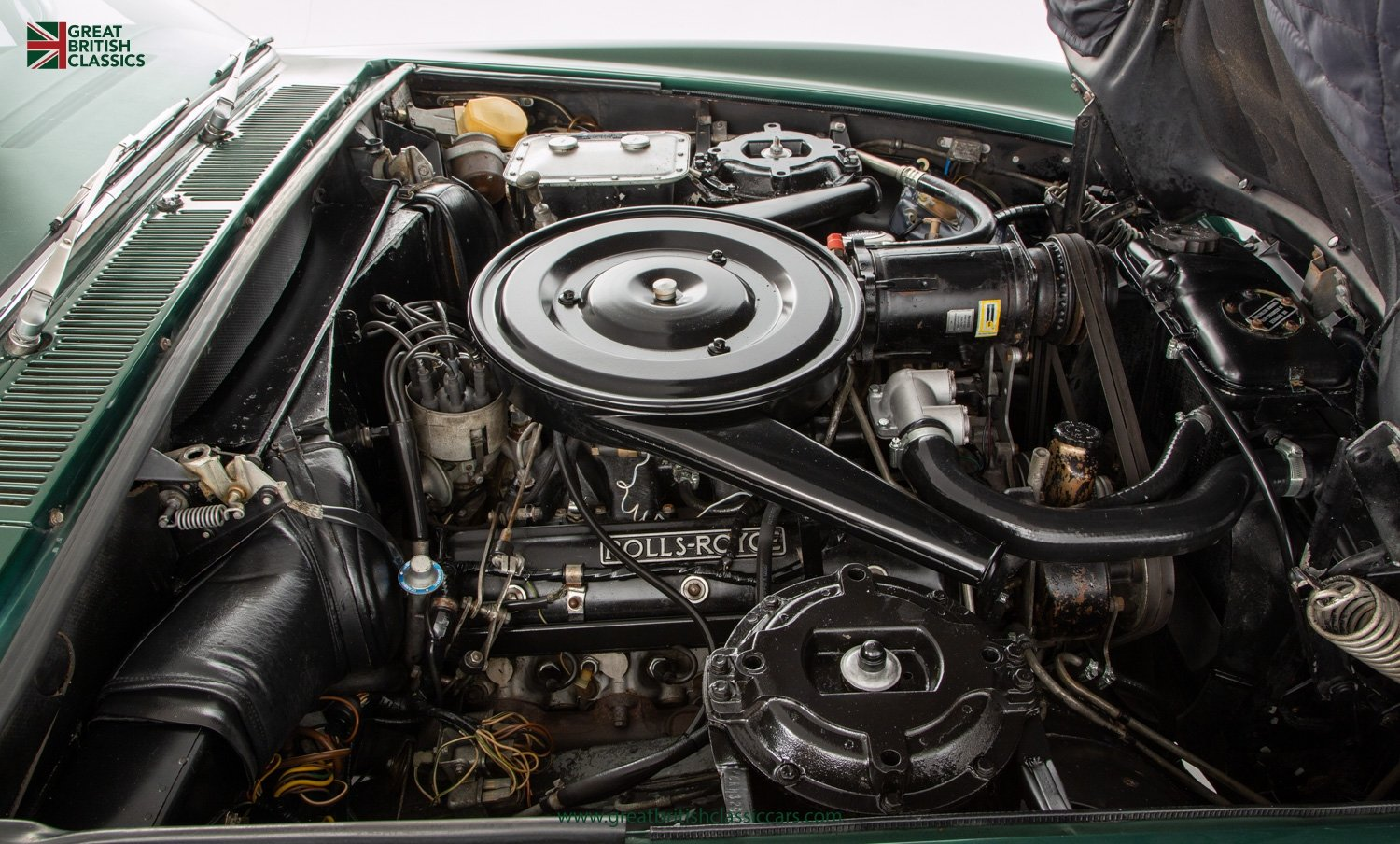 1978 ROLLS ROYCE CORNICHE // HIGHLAND GREEN // HUGE HISTORY FILE  For Sale (picture 20 of 24)