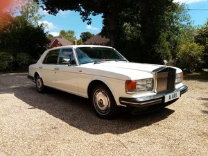 Rolls-Royce Silver Spur in White