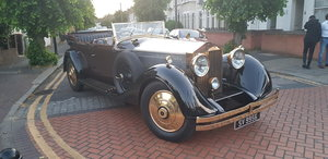 1929 Rolls Royce Phantom 2 open Tourer by Barker