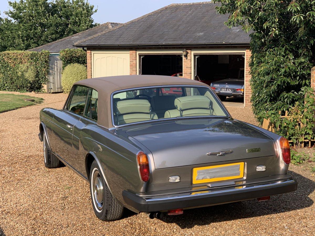 1977 Rolls Royce Corniche Mulliner Park Ward Coupe For Sale (picture 1 of 6)