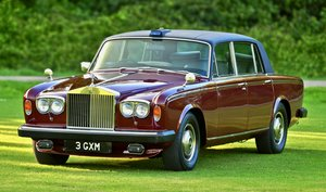 1980 Rolls-Royce Silver Wraith II Supplied new to HRH Prince