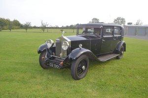 1932 ROLLS ROYCE SALOON 20/25 BY PARK WARD For Sale