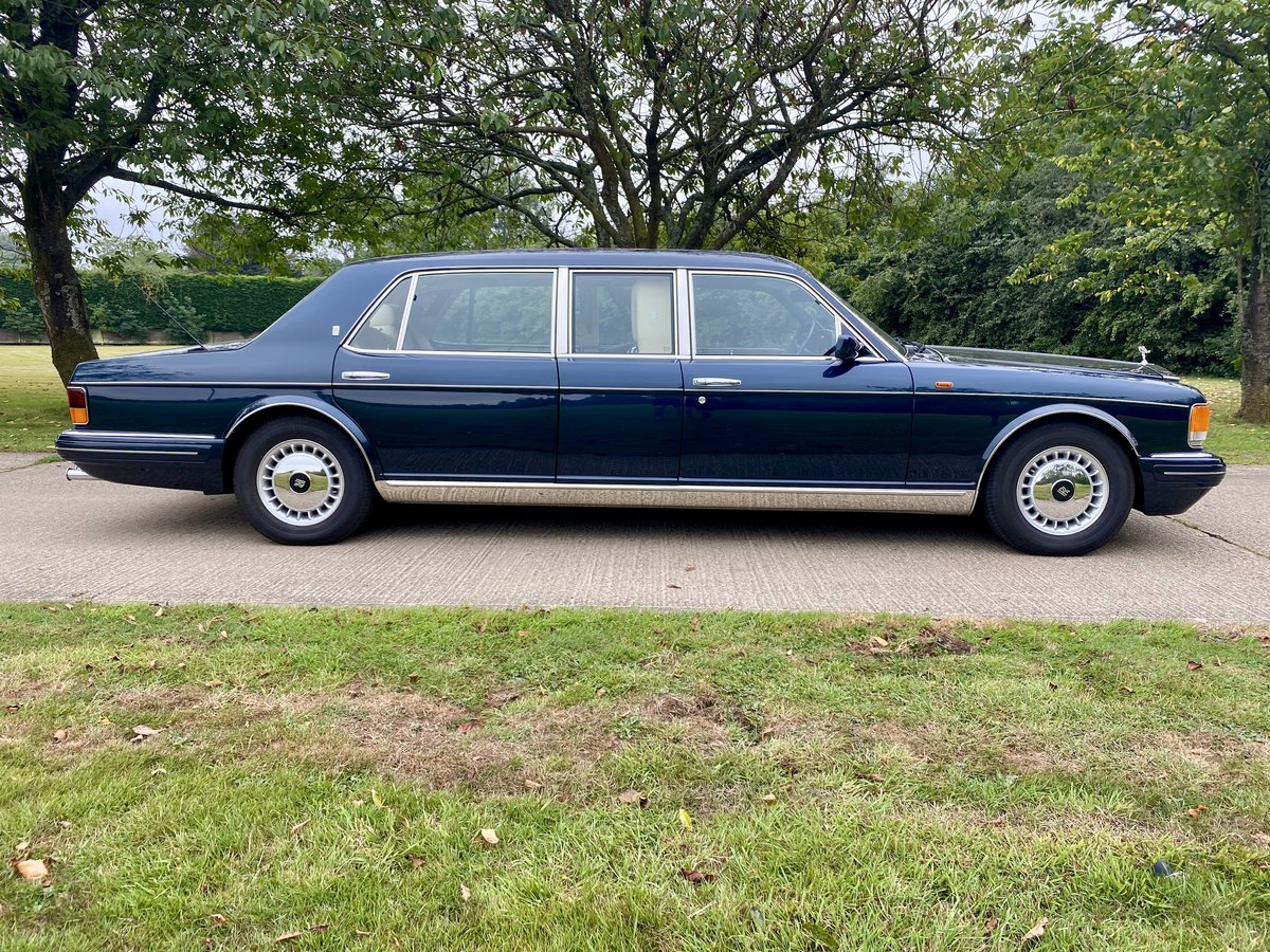 1998 Rolls Royce Silver Spur Park Ward Touring Limousine For Sale (picture 2 of 6)