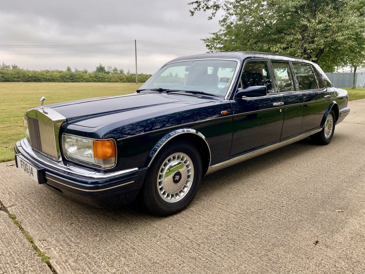 1998 Rolls Royce Silver Spur Park Ward Touring Limousine For Sale (picture 3 of 6)
