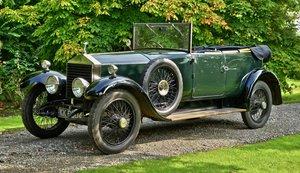 1923 Rolls Royce 20hp 2 door Cabriolet by H.J. Mulliner For Sale